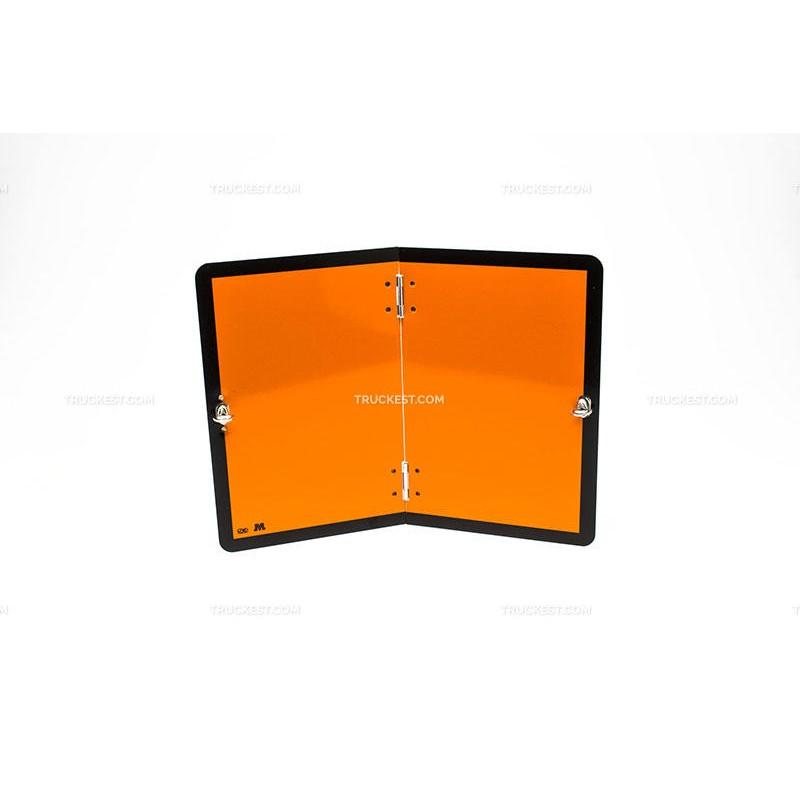 Cartello in alluminio piega verticale - classe 2 | Cartelli ADR | Ricambi veicoli industriali | Truckest.com