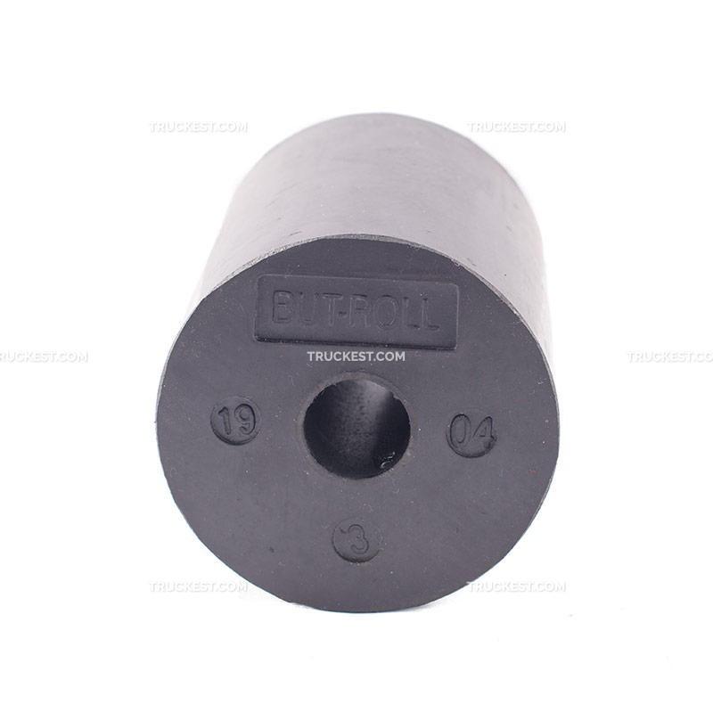 RULLO DI RICAMBIO IN GOMMA DIAMETRO 10MM L.130 C/FORO 26MM | Paracolpi a rullo | Ricambi veicoli industriali | Truckest.com