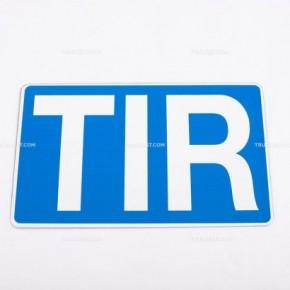 Cartello TIR in alluminio | Cartelli | Ricambi veicoli industriali | Truckest.com
