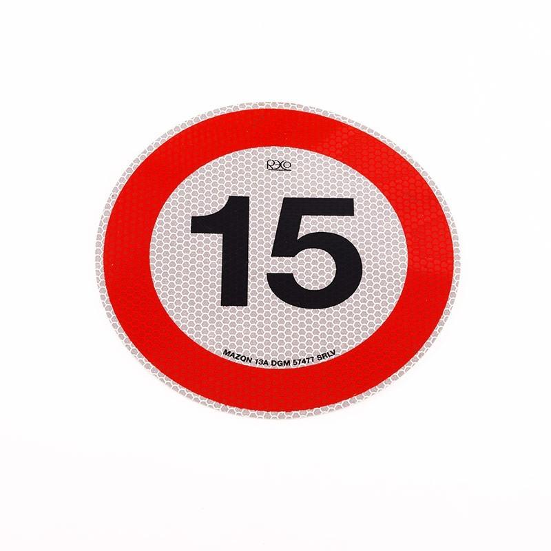 Limite 15km/h   Adesivi   Ricambi veicoli industriali   Truckest.com