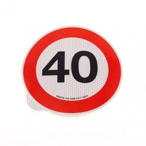 LIMITE  40km/h   Adesivi   Ricambi veicoli industriali   Truckest.com