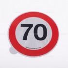 Limite 70km/h | Adesivi | Ricambi veicoli industriali | Truckest.com