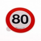 Limite 80km/h | Adesivi | Ricambi veicoli industriali | Truckest.com
