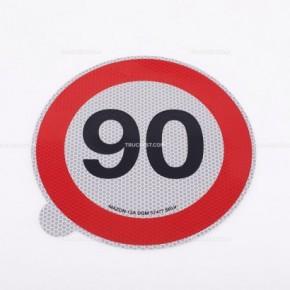 Limite  90km/h   Adesivi   Ricambi veicoli industriali   Truckest.com