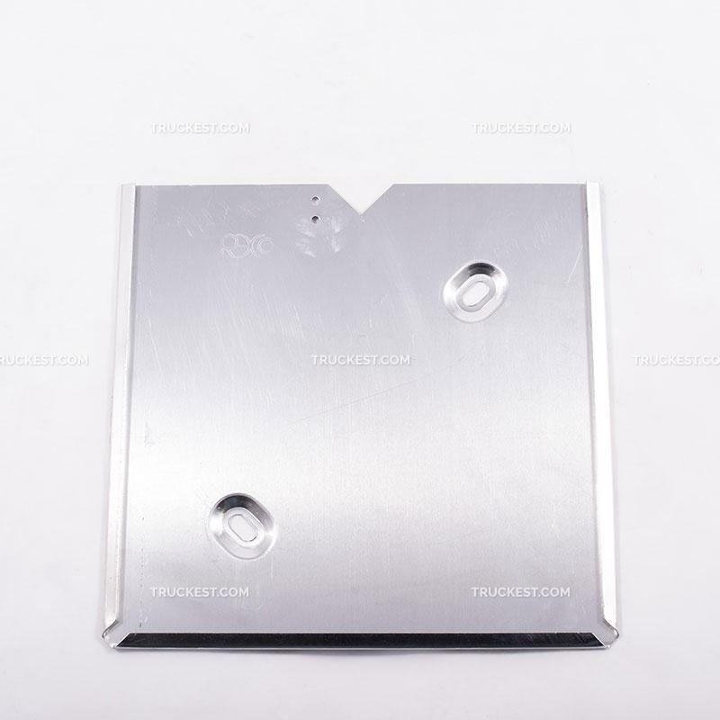 Portacartello in alluminio 300x300mm a 2 asole | Cartelli ADR | Ricambi veicoli industriali | Truckest.com