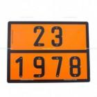Pannello ADR Propano Liquido | Cartelli ADR | Ricambi veicoli industriali | Truckest.com