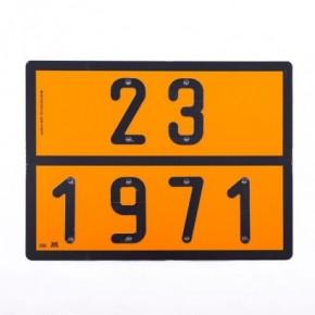 Pannello ADR Gas Naturale | Cartelli ADR | Ricambi veicoli industriali | Truckest.com