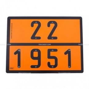Pannello ADR Argon liquido | Cartelli ADR | Ricambi veicoli industriali | Truckest.com