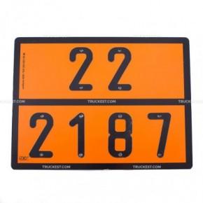 Pannello ADR Biossido di carbonio   Cartelli ADR   Ricambi veicoli industriali   Truckest.com