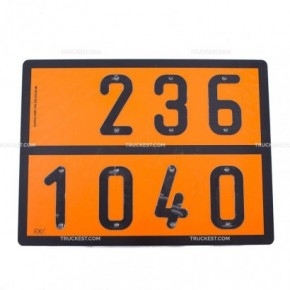 Pannello ADR ossido etilene   Cartelli ADR   Ricambi veicoli industriali   Truckest.com