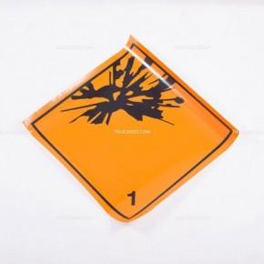 Adesivo ADR esplosivi  1.1 - 1.2 - 1.3   Adesivi   Ricambi veicoli industriali   Truckest.com