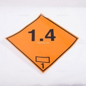 Adesivo ADR classe 1.4 | Adesivi | Ricambi veicoli industriali | Truckest.com