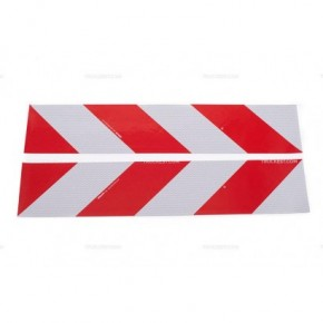 Coppia di adesivi rifrangenti - Classe 1 | Adesivi | Ricambi veicoli industriali | Truckest.com