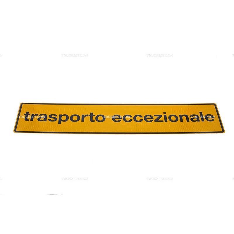 Cartello bifacciale in alluminio CL. 2 1200x250 | Cartelli | Ricambi veicoli industriali | Truckest.com