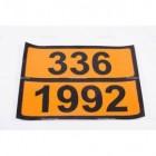 Pellicola adesiva ADR ONU 336/1992   Adesivi   Ricambi veicoli industriali   Truckest.com