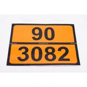 Pellicola adesiva ADR ONU 90/3082   Adesivi   Ricambi veicoli industriali   Truckest.com