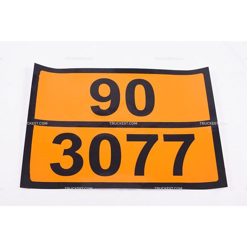 Pellicola adesiva ADR ONU 90/3077   Adesivi   Ricambi veicoli industriali   Truckest.com