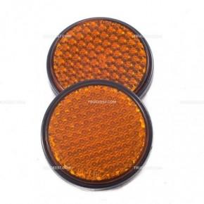 Catadiottro arancio   Catadiottri   Ricambi veicoli industriali   Truckest.com