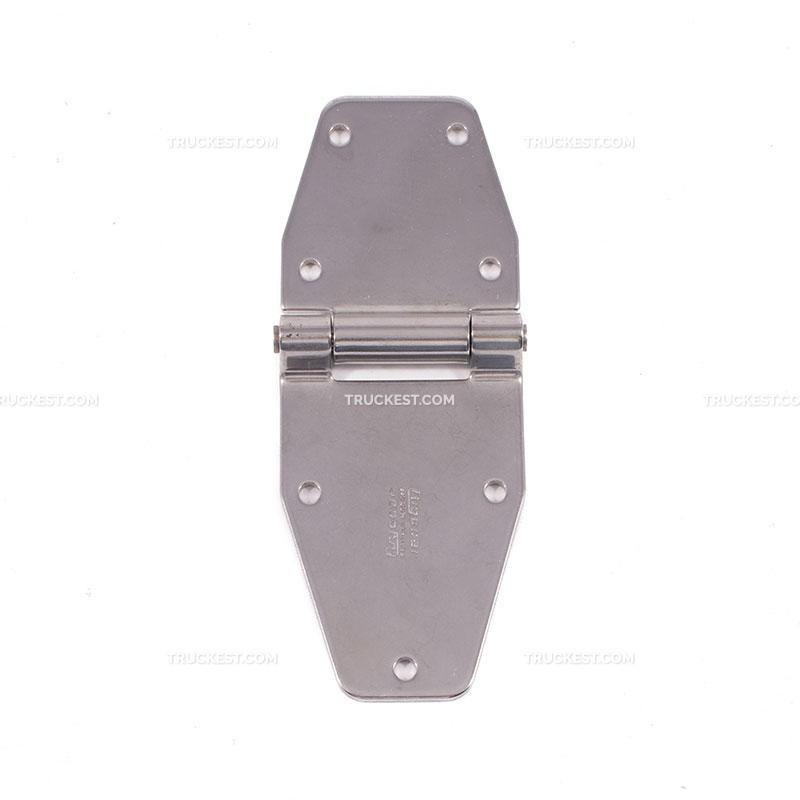 Cerniera inox L: 214mm con perno | Accessori per furgonature | Ricambi veicoli industriali | Truckest.com