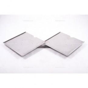 Portacartello doppio inox 300x300 mm | Cartelli ADR | Ricambi veicoli industriali | Truckest.com