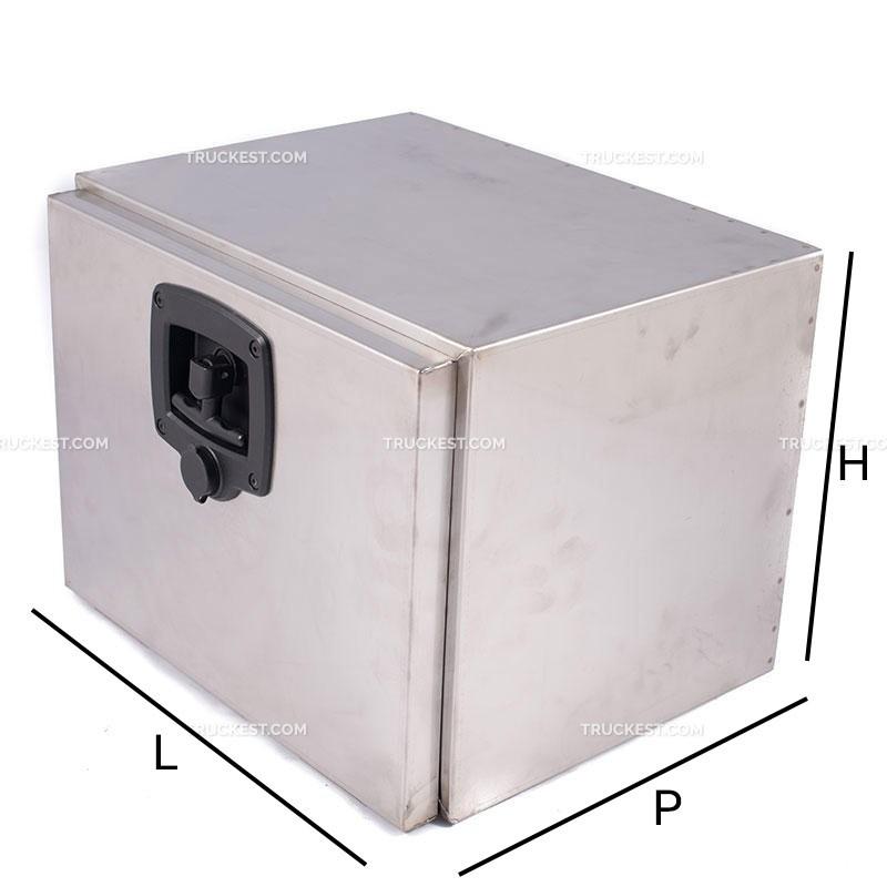 Cassetta in acciaio inox   Cassette porta attrezzi per camion   Ricambi veicoli industriali   Truckest.com