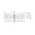 FANALINO 12 / 24 V LED ROSSO | Fanalini | Ricambi veicoli industriali | Truckest.com