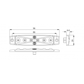 FANALINO 12 / 24 V LED BIANCO | Fanalini | Ricambi veicoli industriali | Truckest.com