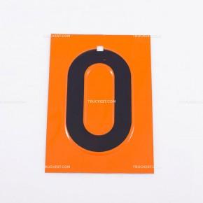 Numeri in acciaio inox per pannelli ADR | Cartelli ADR | Ricambi veicoli industriali | Truckest.com
