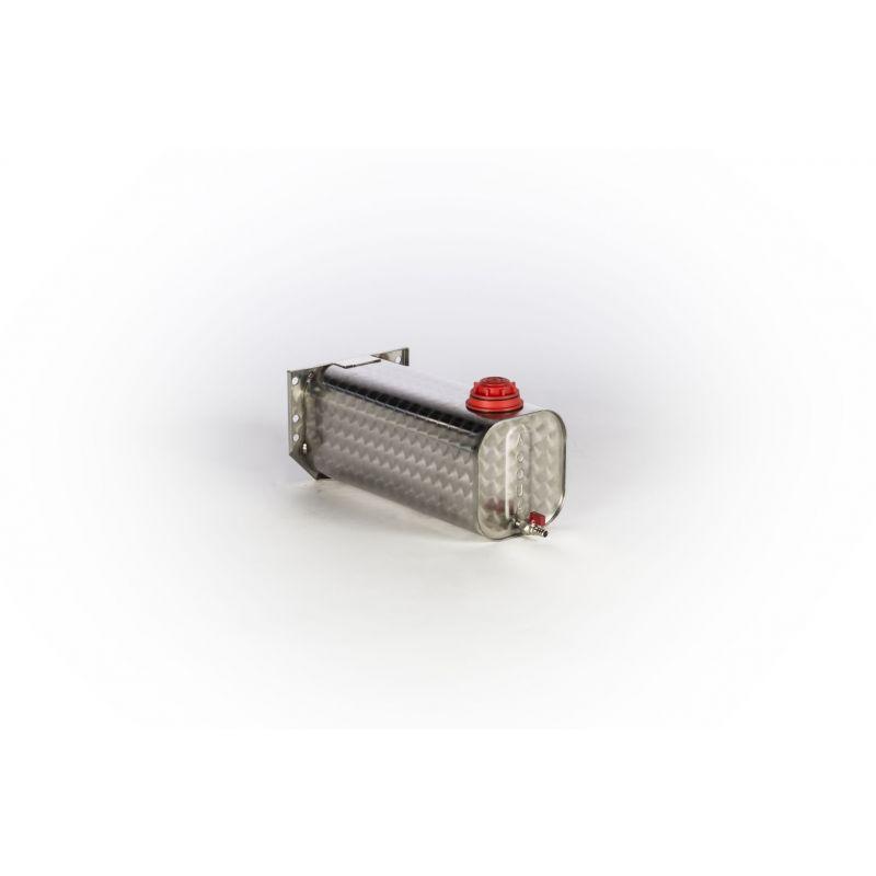 Tanica acqua da 12,5L in acciaio inox fiorettato | Taniche | Ricambi veicoli industriali | Truckest.com