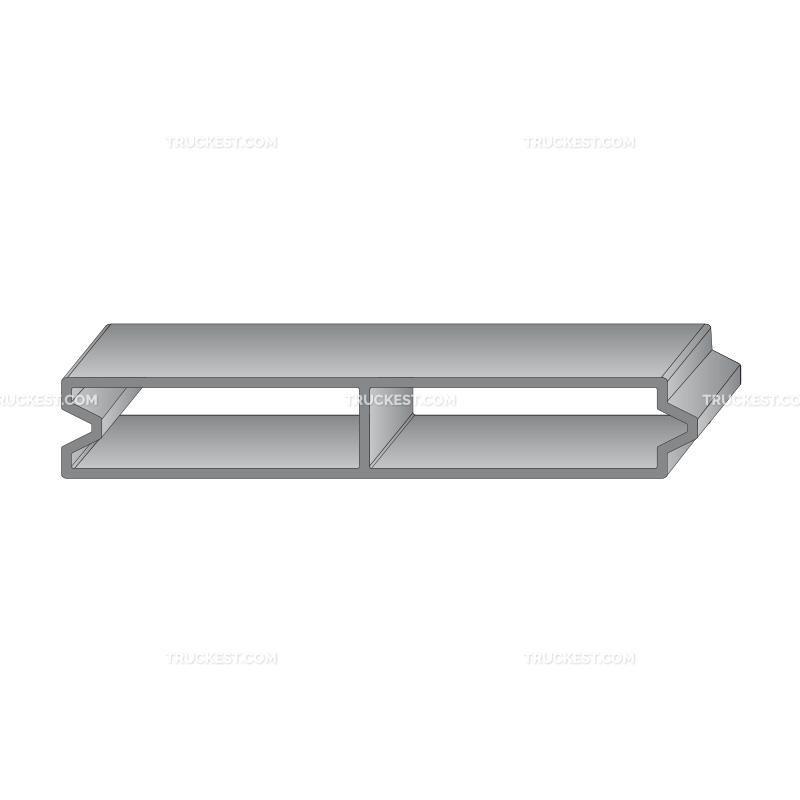 Profilo in alluminio 150X25   Sovrasponde   Ricambi veicoli industriali   Truckest.com