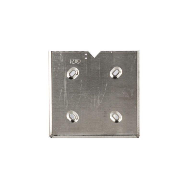Portacartello inox con 4 asole e fermo   Cartelli ADR   Ricambi veicoli industriali   Truckest.com