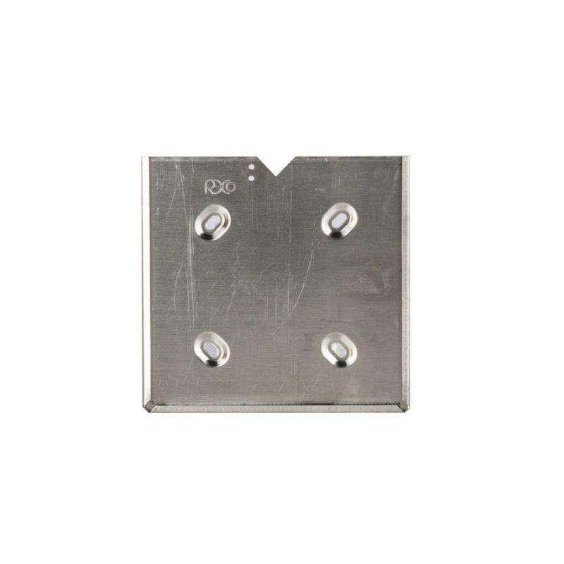 Portacartello zincato con 4 asole e linguetta di fermo   Cartelli ADR   Ricambi veicoli industriali   Truckest.com