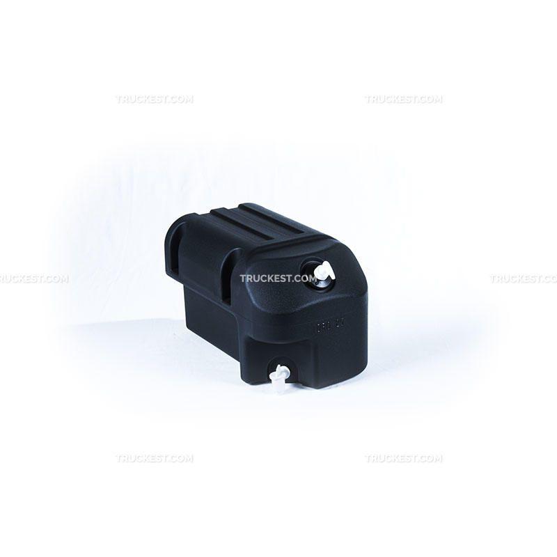 Tanica acqua 25 LT nera con portasapone   Cassette e accessori   Ricambi veicoli industriali   Truckest.com